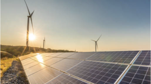 DTE has committed to renewable energy sources such as wind turbines and solar arrays
