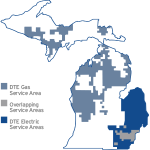 Michigan Service Map